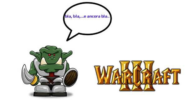 warcraft 3 bla bla peon