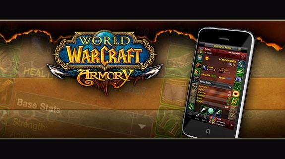 Finalmente World of Warcraft Armory su IPhone