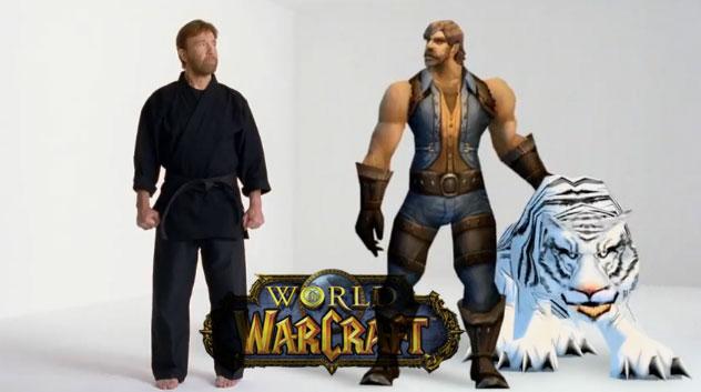 world of warcraft chuck norris
