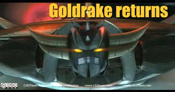 goldrake animation