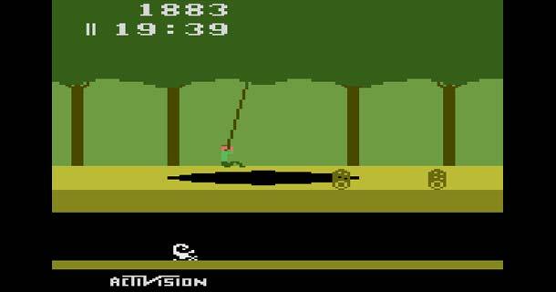 pitfall activision 1982 atari 2600