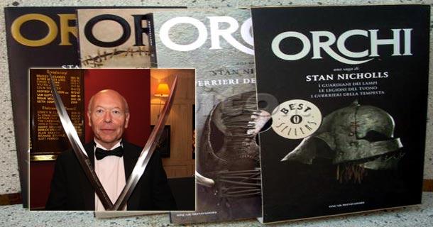 stan nicholls orcs author