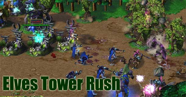elves tower rush