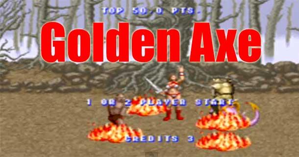 golden axe SEGA