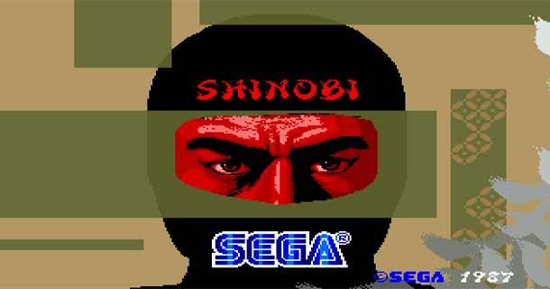 shinobi 1987 SEGA