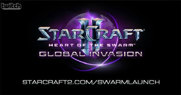 starcraft 2 heart of the swarm lancio live