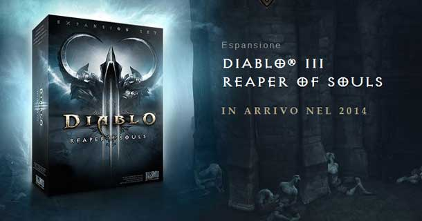 diablo 3 espansione Reapers of Souls