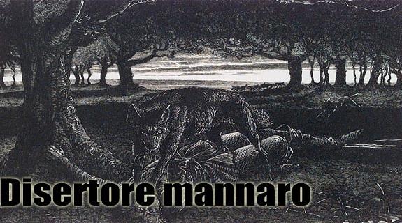 Disertore mannaro