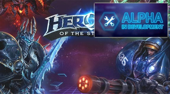 Heros of the Storm versione alpha