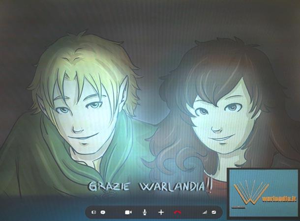 Sand e Matilda su SKYPE con Warlandia.it