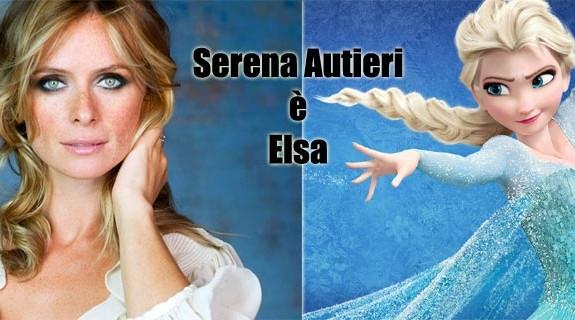 Serena Autieri è Elsa in Frozen