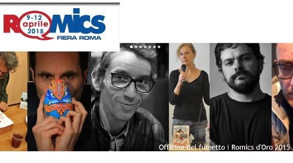 Torna Romics a Roma nella sua edizione 2015