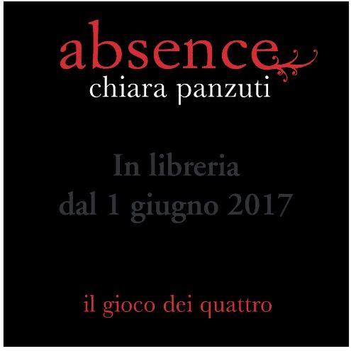 Absence - Chiara Panzuti - 1 giugno 2017