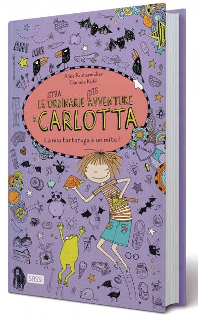 Le (stra)ordinarie (dis)avventure di Carlotta. La mia tartaruga è un mito!