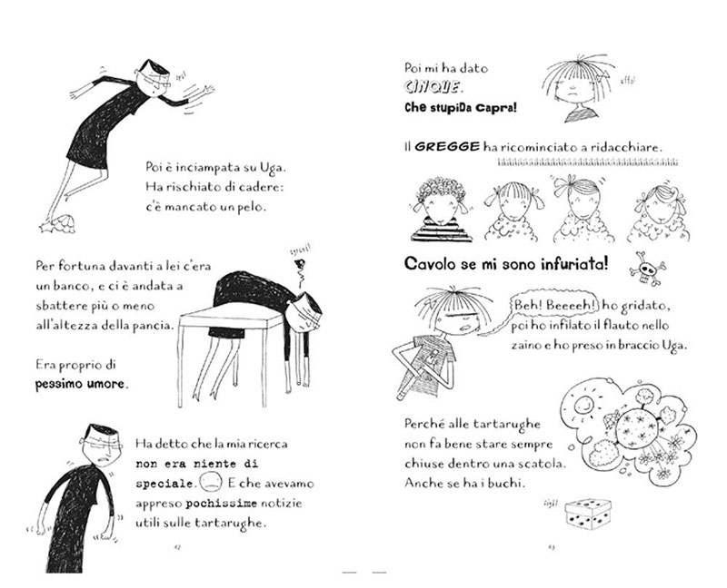 Le disavventure di Carlotta  - Immagine dal libro